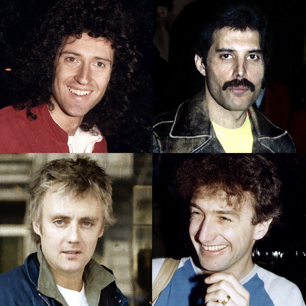 Queen Backstage - Brussels 1982