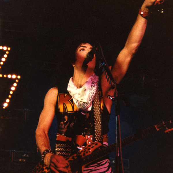 Paul Stanley - Animalize World Tour - Brussels 1985